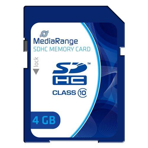 Κάρτα Μνήμης MediaRange SDHC Class 10 4 GB (High Capacity) (MR961) - 1