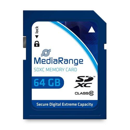 Κάρτα Μνήμης MediaRange SDXC Class 10 64 GB (eXtended Capacity) (MR965)