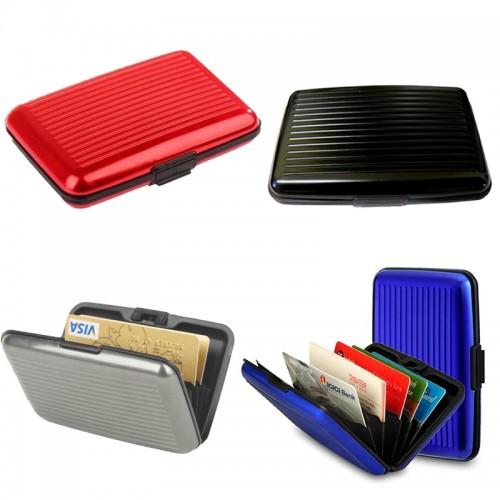 Μεταλλική Καρτοθήκη Card Caddy W-9540 Σε Διάφορα Χρώματα