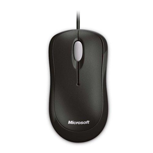Ποντίκι Οπτικό Microsoft Basic Μαύρο (P58-00057) (MICP58-00057) - 2