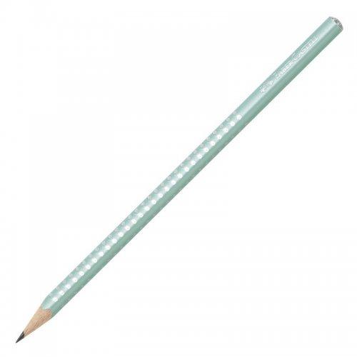Μολύβι Faber-Castell Grip Sparkle Μέντα
