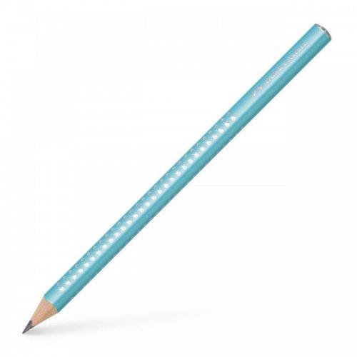 Μολύβι Faber-Castell Jumbo Sparkle Pearl B Σιέλ