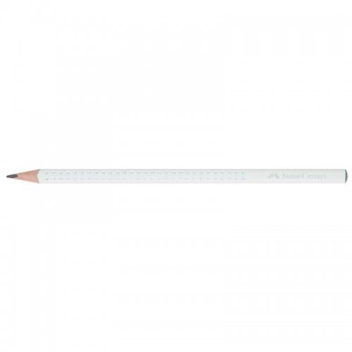 Μολύβι Ξύλινο Faber Castell Sparkle II Λευκό