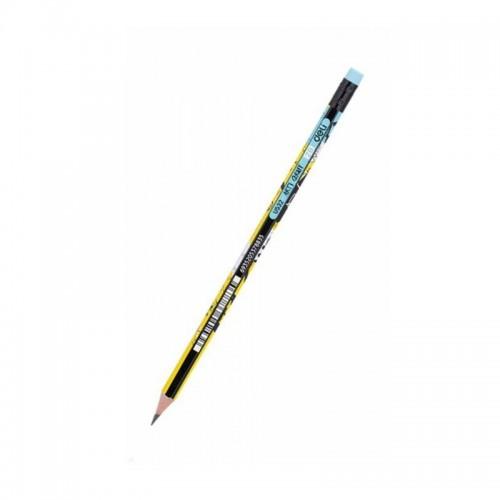 Μολύβι Ξύλινο Με Γόμα Deli Arti Graft 2Β - 1