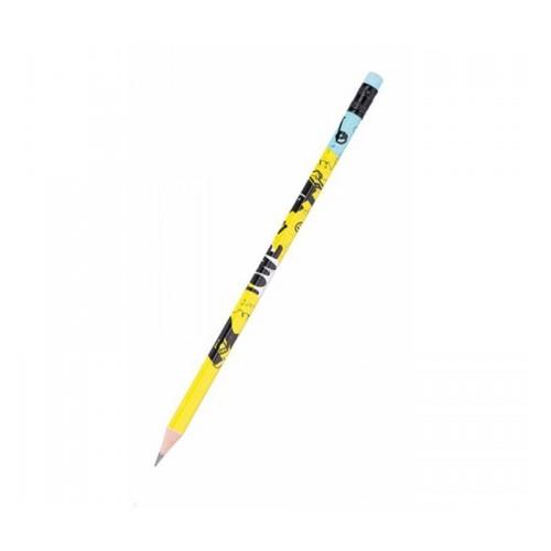 Μολύβι Ξύλινο Με Γόμα Deli Arti Graft 2Β - 2