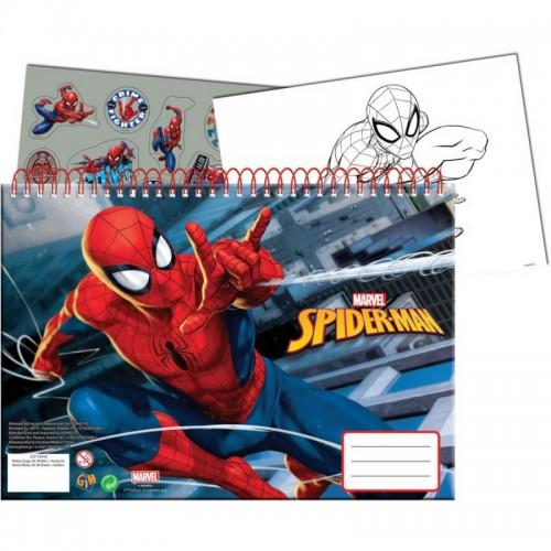 Μπλοκ Ζωγραφικής Spiderman Gimsa 337-75416