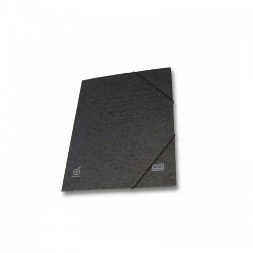 Ντοσιέ Με Λάστιχο Prespan Skag Economy Μαύρο  (25x35) - 1