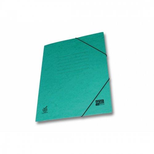 Ντοσιέ Με Λάστιχο Prespan Skag Economy Πράσινο (25x35) - 1