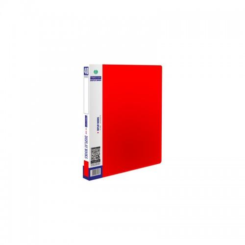 Ντοσιέ Σουπλ Metron A4 40 Θέσεων Κόκκινο - 1