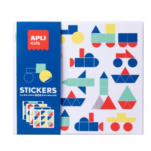 Παιχνίδι Με Αυτοκόλλητα Οχήματα Apli Kids Stickers Box 18359