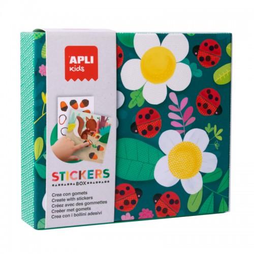 Παιχνίδι Με Αυτοκόλλητα Πασχαλίτσα Apli Kids Stickers Box 18362