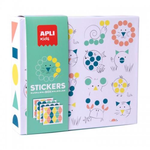 Παιχνίδι Με Αυτοκόλλητα Ζωάκια Apli Kids Stickers Box 18361