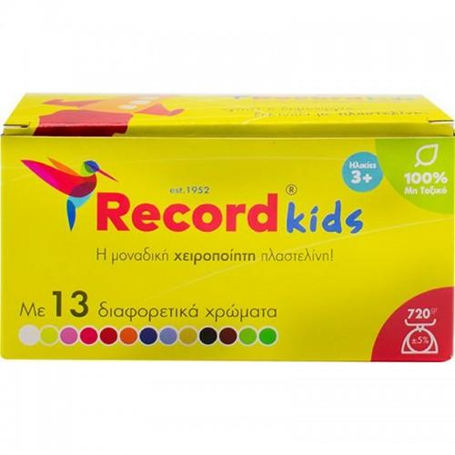 Πλαστελίνη Record Kids 13 Χρώματα
