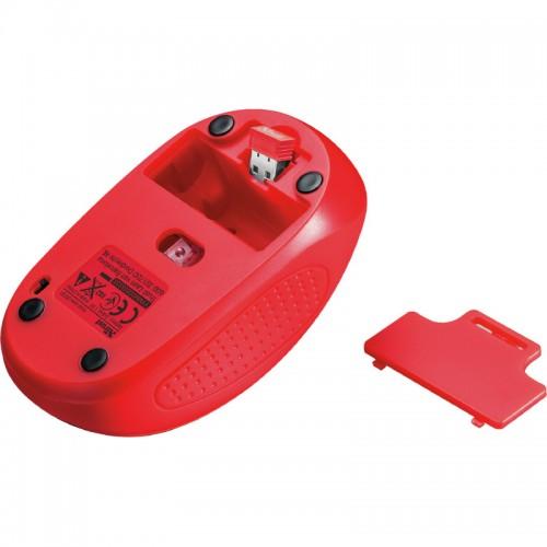 Ποντίκι Ασύρματο Trust Primo Κόκκινο 2078709 - 4