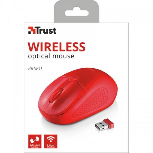 Ποντίκι Ασύρματο Trust Primo Κόκκινο 2078709 - 5
