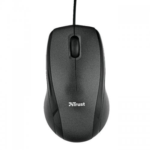 Ποντίκι Ενσύρματο Trust Carve Μαύρο 15862-05 - 4