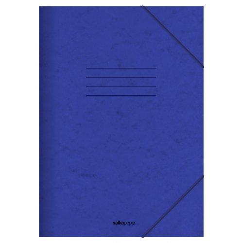 Φάκελος με Λάστιχο Prespan Salko Μπλε 2523 - 1