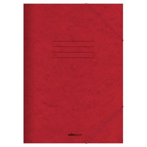 Φάκελος με Λάστιχο Prespan Salko Κόκκινο 2521 - 1