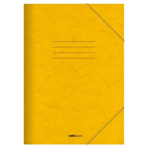 Φάκελος με Λάστιχο Prespan Salko Κίτρινο 2522 - 1