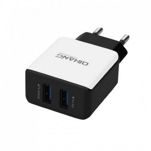 QIHANG 2x USB Φορτιστής Κινητού (QH-C900)