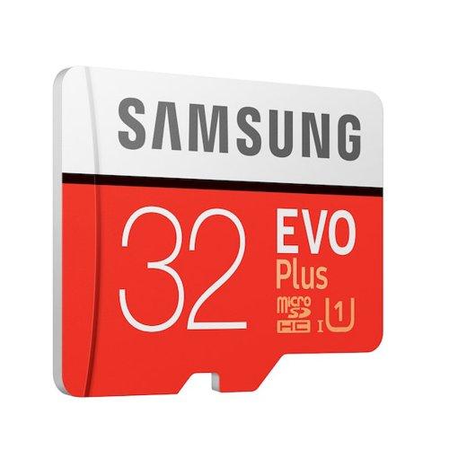 Κάρτα Μνήμης Samsung Micro Secure Digital Evo Plus U1 32GB Class 10 (MB-MC32GAEU) (SAMMB-MC32GAEU)