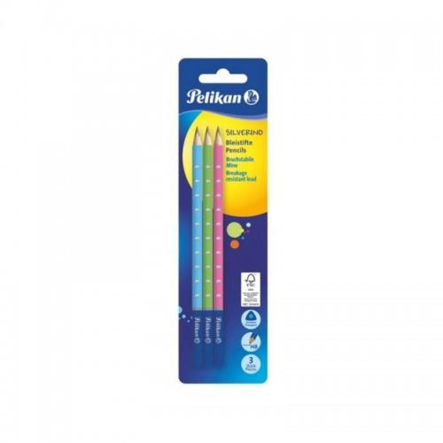 Σετ Μολύβια Pelikan Διάφορα Χρώματα ΗΒ 3τμχ 811149