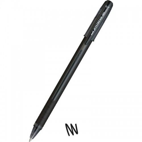 Στυλό Διαρκείας Uni-Ball Jetstream SX-101 Ballpoint Μαύρο (0.7mm) - 1