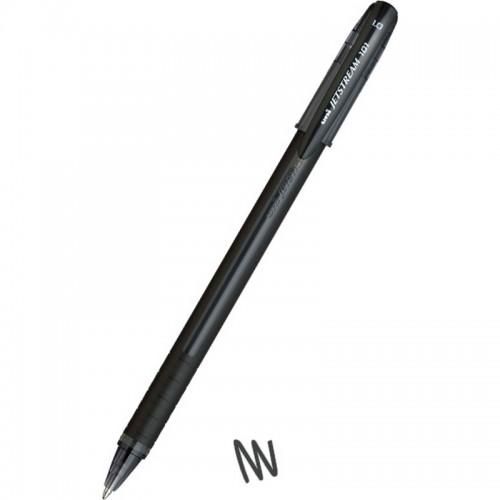 Στυλό Διαρκείας Uni-Ball Jetstream SX-101 Ballpoint Μαύρο (1.0mm) - 1