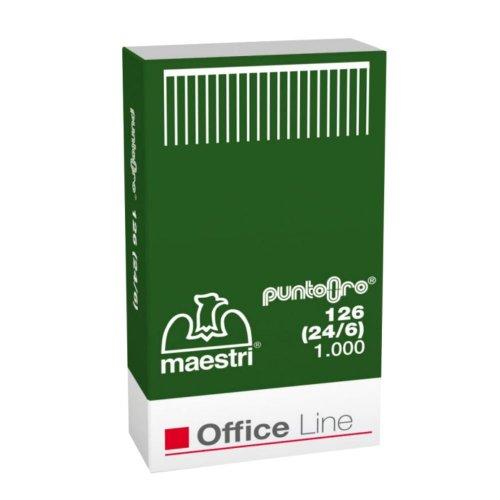 Σύρματα Συρραπτικών Office Line 126 24-6 1000pcs