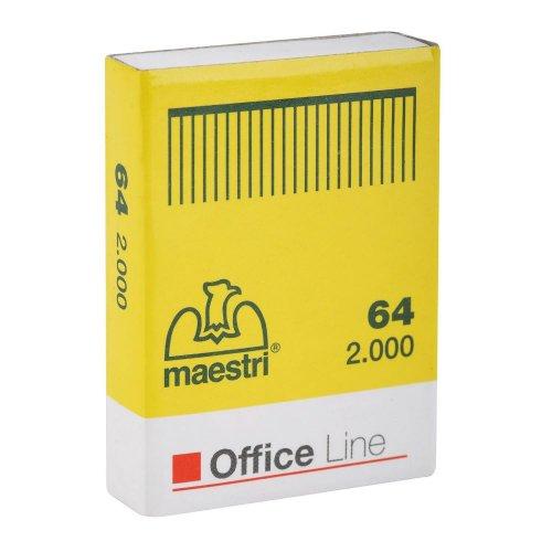 Σύρματα Συρραπτικών Office Line Maestri No 64 2000pcs - 1