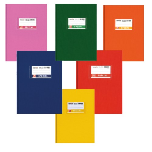 Τετράδιο Εξήγηση TypoTrust Βιβλιοδετημένο Ροζ Ριγέ Β5 (80Φ)
