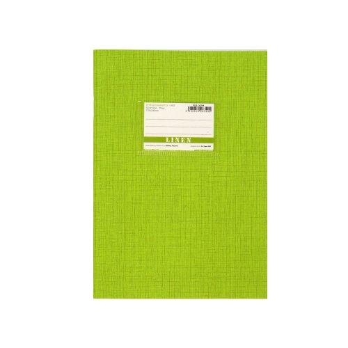 Τετράδιο AnG Linen 50φ Πράσινο