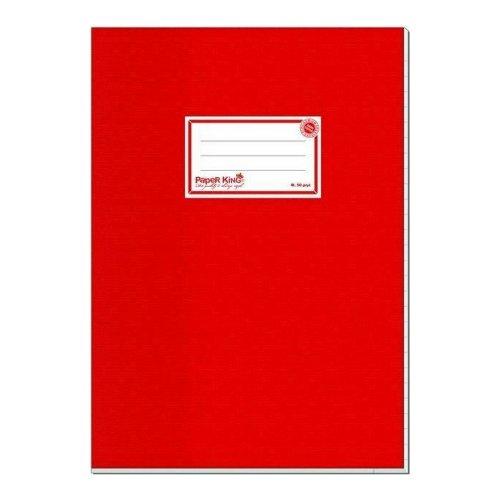 Τετράδιο PaperKing Ριγέ Β5 50φ Κόκκινο