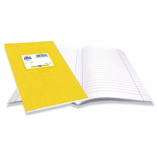 Τετράδιο Super Διεθνές Skag Ριγέ 50φ Κίτρινο