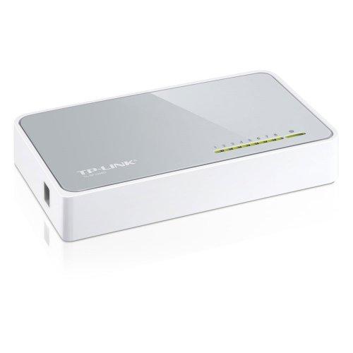Switch TP-LINK V8 10/100 Mbps 8 Ports (TL-SF1008D) (TPTL-SF1008D)