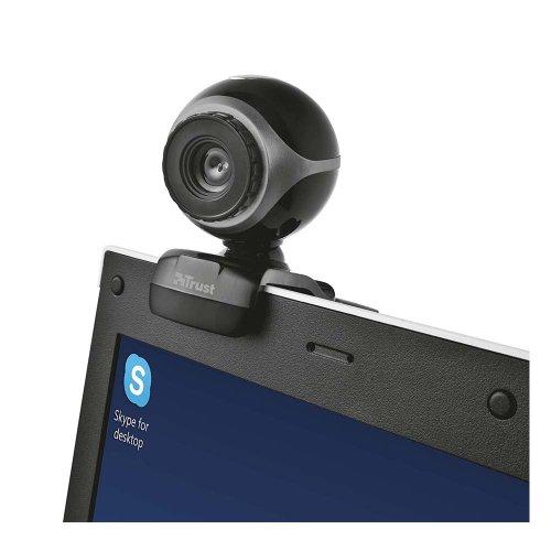 Web Κάμερα Trust Exis Μαύρη-Ασημί (TRS17003) - 2