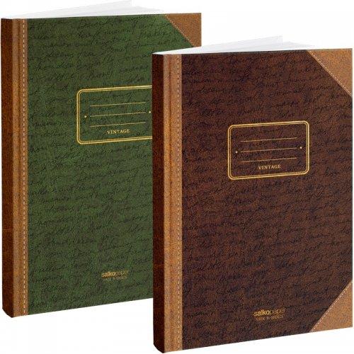 Βιβλιοτετράδιο Salko Β5 96Φ Vintage 7961