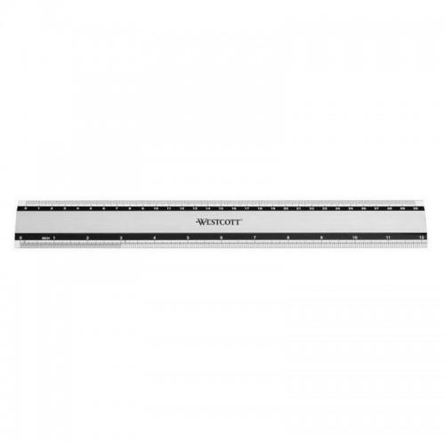 Χάρακας Westcott Μεταλλικός E-10191 30cm - 1