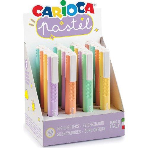 Υπογραμμιστής CARIOCA Pastel